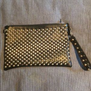 Handbags - Large Spiked Wristlet